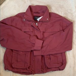 NWT Abercrombie & Fitch Rose Utility Jacket